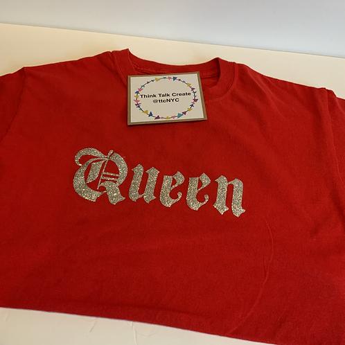 Queen Glitter T-Shirt