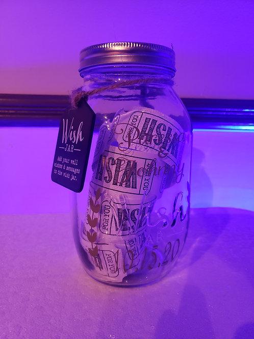 Personalized Wish Mason Jar