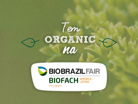 Organic confirmada para BIOBRAZIL Fair