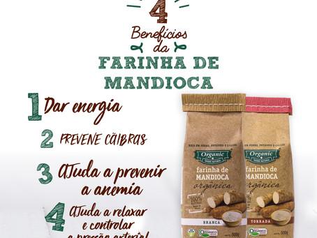Os Benefícios da Farinha de Mandioca