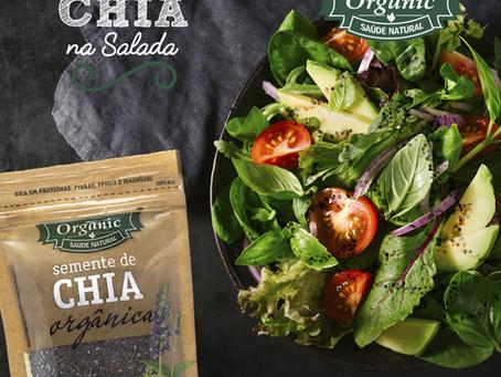 Salada com Chia