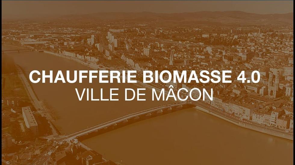 Engie Cofély / La chaufferie biomasse 4.0 de la ville de Mâcon