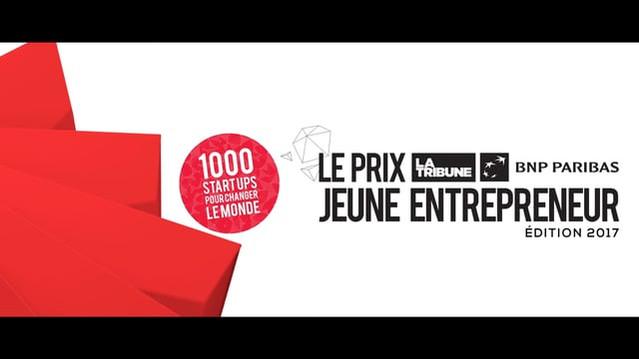 Le prix du jeune entrepreneur La Tribune BNP Paribas 2017