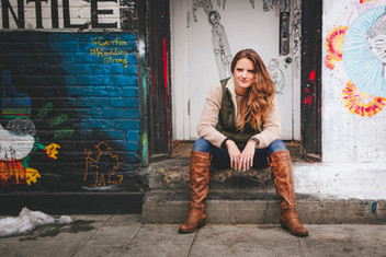 Jen in the Alley