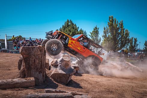 Jumping Jeep