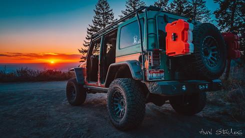 Jeep Sunset