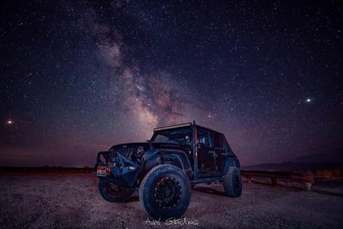 Jeep Galaxy Shot
