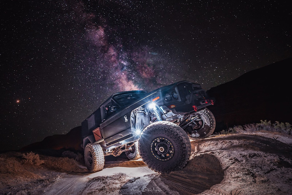 Jeep Galaxy Shot