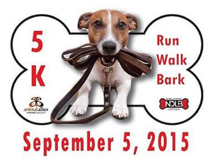 1st Annual Run, Walk Bark!