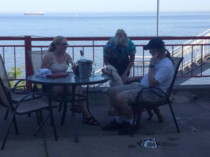 Dining out with your Dog in Duluth