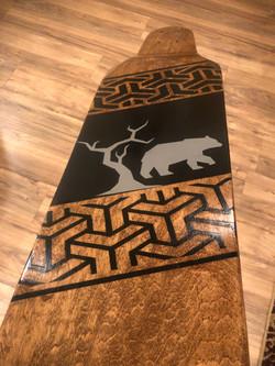 8-ply Canadian Maple Longboard