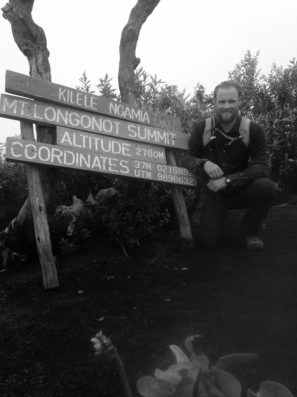 Hiking in Kenya during an SF deployment