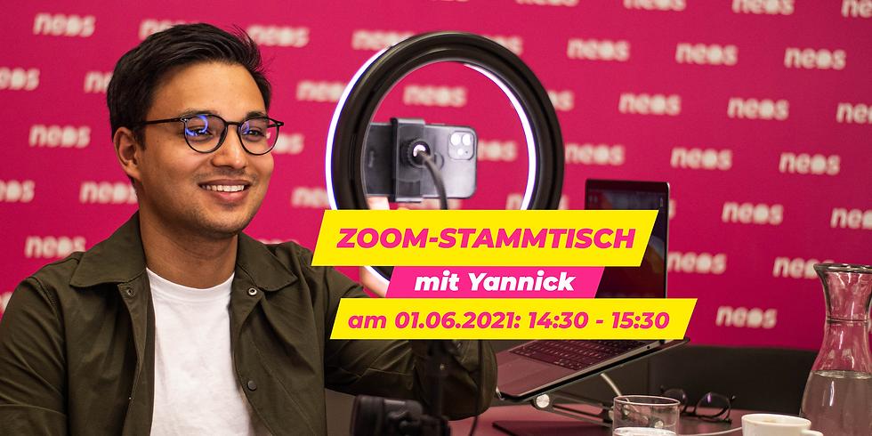 Zoom-Stammtisch mit Yannick am 01.06.