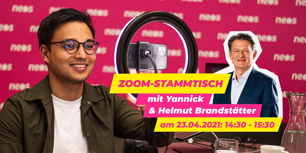 Zoom-Stammtisch mit Yannick und Helmut Brandstätter