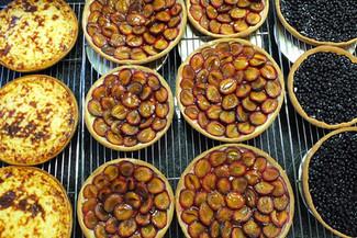 Assortiment de tartes aux fruits