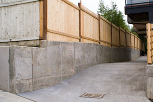 Basic Retaining Wall