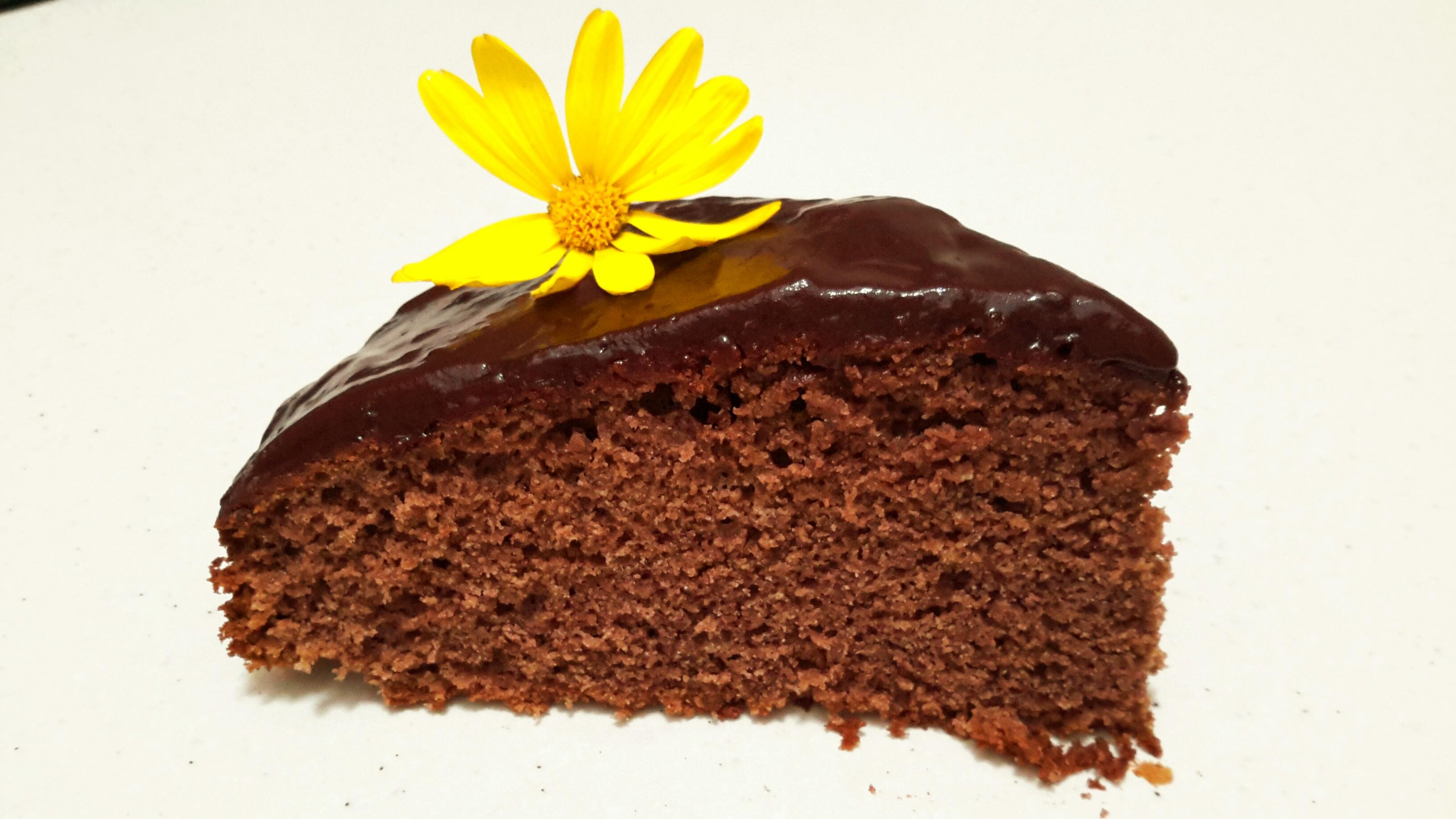 Moelleux chocolat sans gluten.