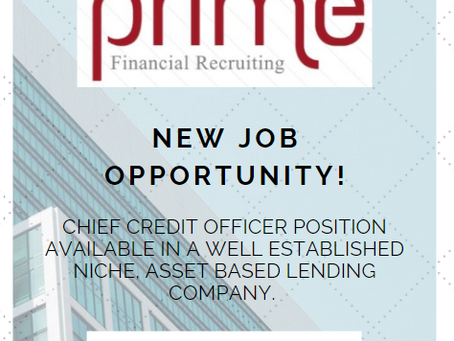 Prime Financial Recruiting Opportunities Update