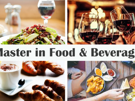 Cerchi un Master in Food & Beverage?