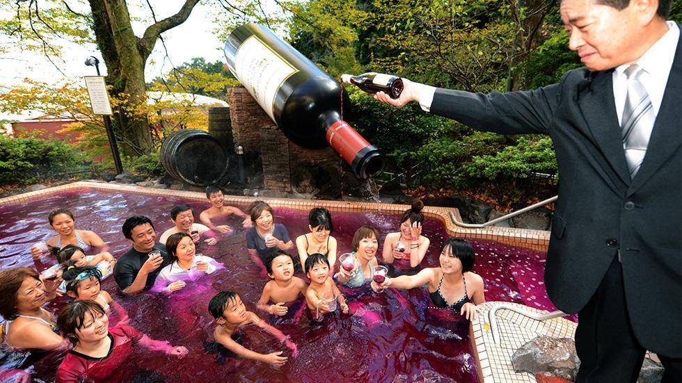 beaujolais nouveau bath Japan
