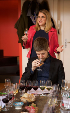We are learning a lot and having fun, your most educational wine tour