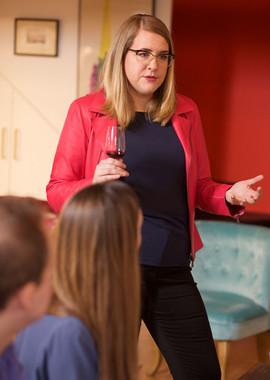 Caroline Conner, WSET 4 Diploma holder and wine educator