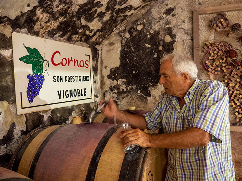 Cornas wine tour