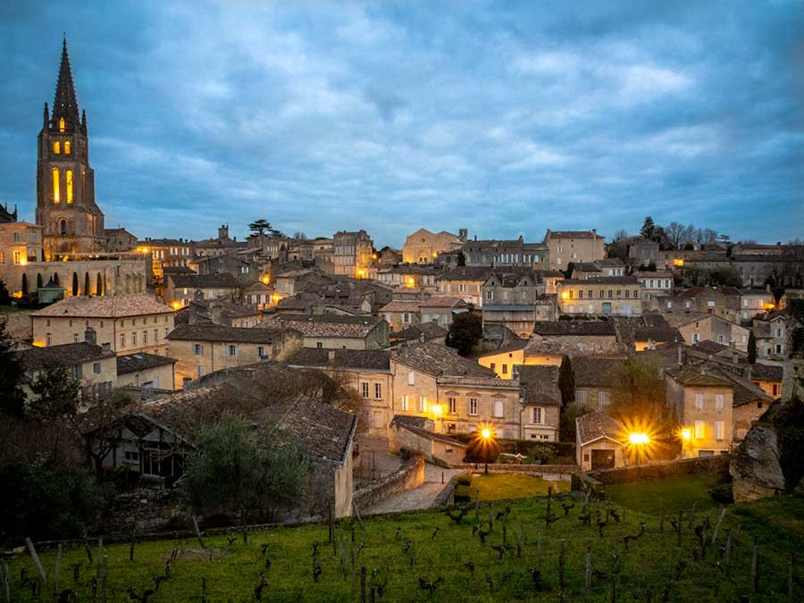 St Emilion sunrise Bordeaux