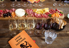 At Lyon Wine Tastings you'll learn how to take a tasting note, but you don't have to. There's no pop quiz!