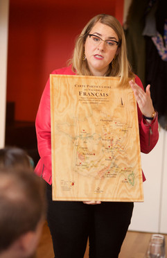 I love my wooden wine map of France!