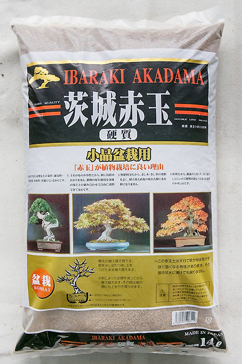 Japanese  Ibaraki Akadama [Hard] for Bonsai / Succulent Soil (赤玉土)-14L