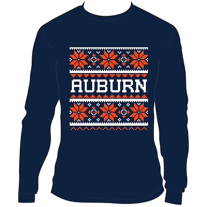 Auburn Holiday Sweater
