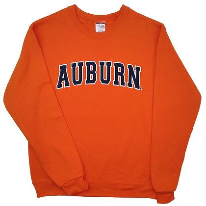 Orange Auburn Arch Sweatshirt