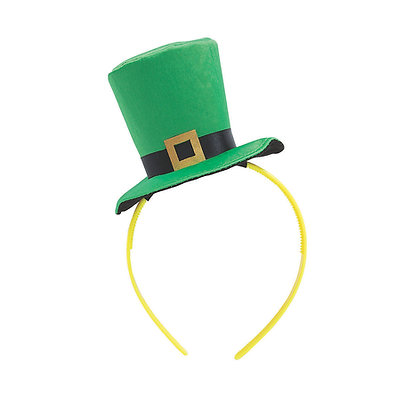 St. Patrick's Day Hat Headband