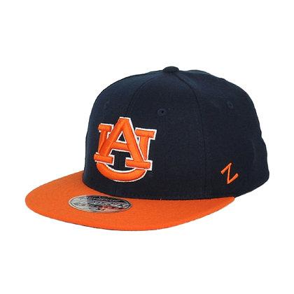 Auburn Tigers Two Tone Flat Bill Zephyr Hat
