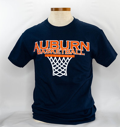 AU Basketball Hoop T Shirt
