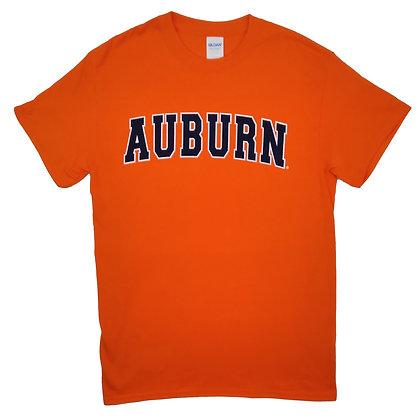 Orange Auburn Arch T Shirt
