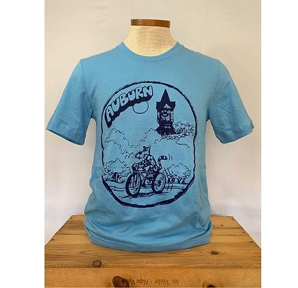 Aubie the Bike Rider Vintage T Shirt