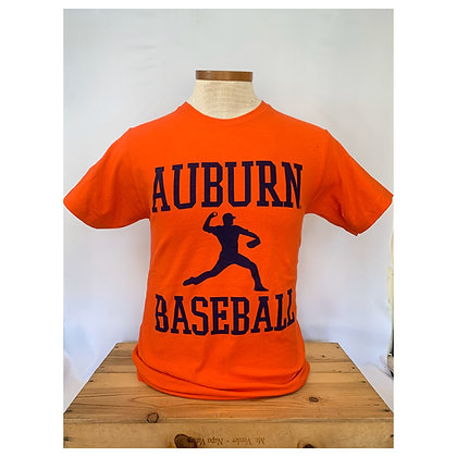 Auburn Baseball Pitcher T Shirt