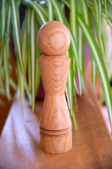 Moulin à poivre et sel - Broyeur Céramique - Chêne