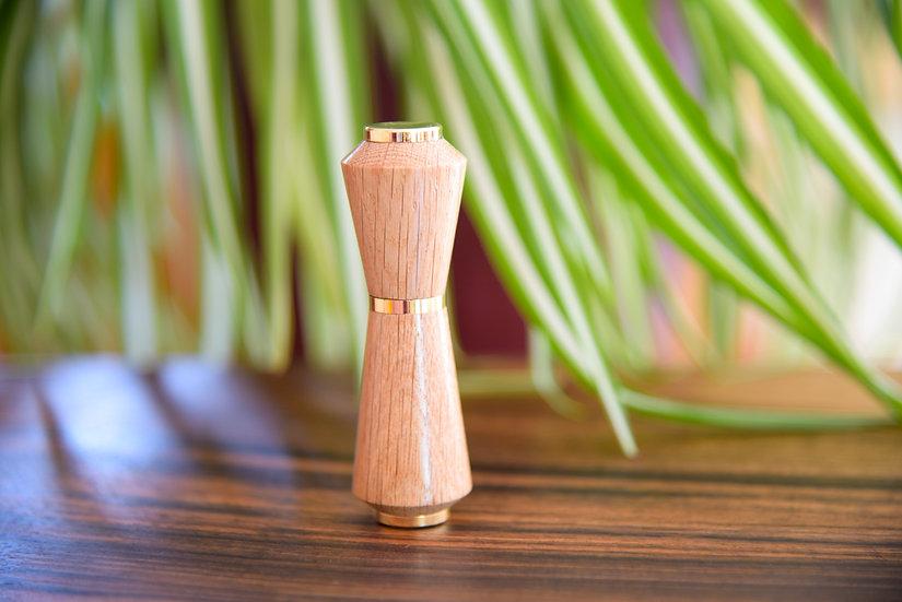 Atomiseur de parfum, édition de luxe plaqué or 24 kt.