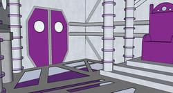 Spaceship Throne Room