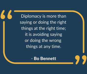 #Diplomacy is not only for the diplomats, but everyone.