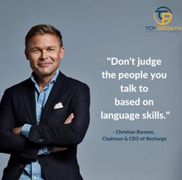 Christian Barmen's Quote