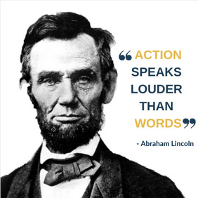 #ActionsSpeak