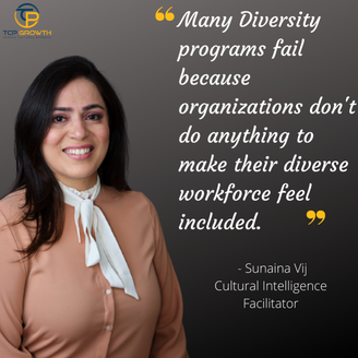 Diversity goes hand in hand with inclusion