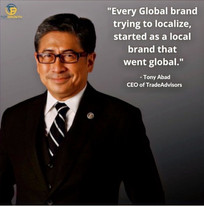 """Every global brand trying to localize, started as a local brand which went global."""