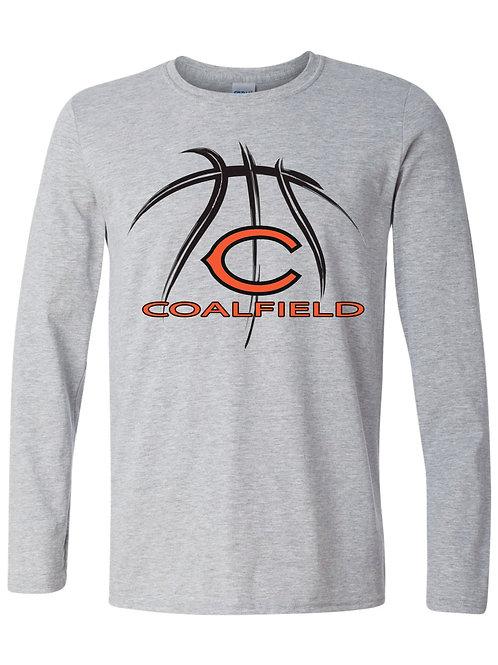 Gildan Long sleeve T-shirt (design 1) Available in black, or gray
