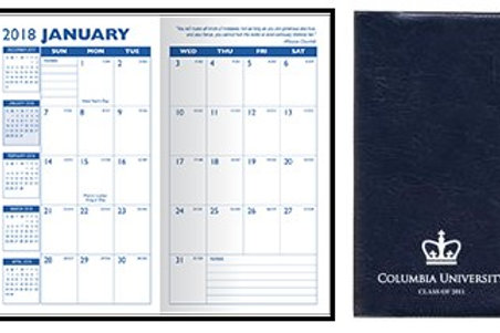 Executive Monthly Pocket Planner- Box of 100
