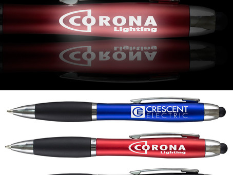 Custom ink pens are affordable and effective